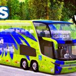 Skins World Bus Driving G7 1800 DD Viação Garcia Gralha Azul