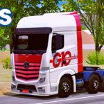 "Skins MB Actros Transportes G10 ""Qualificado"