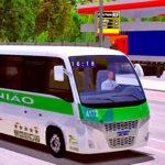 Skins World Bus Driving Volare Viação União