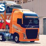 "Skins Volvo FH 16 Pintura Especial + Carreta Cegonha ""QUALIFICADO"""
