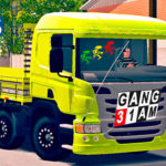 "Skins Scania Pzinha Top Amarela ""QUALIFICADA"""