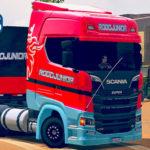 Skins Scania S Rodojunior + Carreta Bitrem