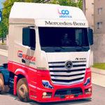 Skins Mercedes Benz Actros Coopercarga