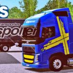 Skins Volvo FH Performance Edition + Carrtea bau Spolier