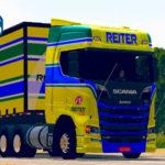 Skins Scania S Reiter Log Edição Especial