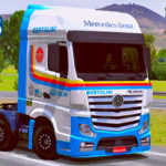 Skins Mercedes Benz Actros Transportes Bertolini