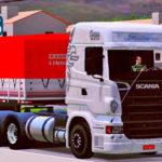 Conjunto de Skins Scania R Qualificada No Rodotrem 9 Eixos