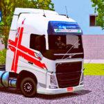 Skins Volvo FH16 Com Faixas Decorativa