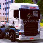 Skins Scnia R Transportadora Marvel
