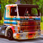 "Skins Scania 113 Frontal ""Velha Enferrujada"""