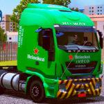 """Skins Iveco Hi-way """"Heineken"""""""