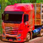 Skins Mercedes Benz Actros Sujo no Bitrem Florestal