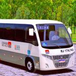 Skins World Bus Driving Volare Viação Cidade do Aço