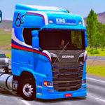 Skins Scania S Com Pintura Especial Azul