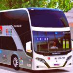 Skins Busscar Vissta Buss DD Viação Cidade do Aço