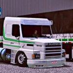 Skins Scania 113 Na Graneleira 3 Eixos Com Faixas Verde 'EXCLUSIVA'