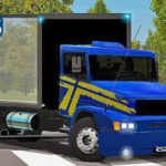 Skins Mercedes Benz 1620 Azul Com Faixas 'EXCLUSIVO'