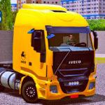 Skins Iveco Hi-Way Amarelo Com Detalhes Especial