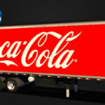 Skins Reboque Bau Coca-Cola