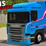Mod Som Scania Modificado Com Freio Motor World Truck!