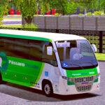 Skins World Bus Driving Volare Viação Pássaro Verde