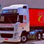 Skins Volvo FH No Sider Comando Diesel