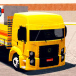 "Skins VW Constellation Amarelo ""QUALIFICADO"""
