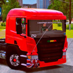 Skins Scania P310 Vermelha 'QUALIFICADO'