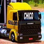 Skins Scania 113 Frontal Amarela Gislon 'QUALIFICADA'