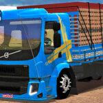 Skins Volvo VM Azul Com Faixas 'EXCLUSIVO'