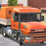 Skins Scania 124G 'EXCLUSIVA' Laranja na Graneleira