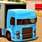 Skins VW Constellation Truck Azul no Bau 'QUALIFICADO'