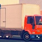 Skins Ford Cargo Truck No Bau Laranja (QUALIFICADO)