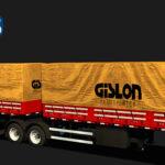 Skins Reboque Bitrem Graneleiro Gislon Transportes