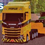 Skins Scania S Cat