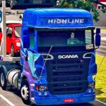 Skins Scania R Grafitada 'Exclusiva na Cegonha'