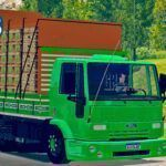 Skins Ford Cargo Top Verde GBN #131
