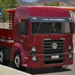 "Skins VW Constellation Bitruck vermelho ''EXCLUSIVO"""