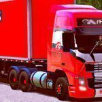 Skins Conjunto Volvo FH No Bau Reiter Log