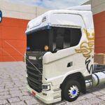 "Skins Scania S Branca Com Logo Griffin ""EXCLUSIVO"""