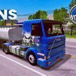 Conjunto de Skin Scania 112H Frontal + Carreta Tanque World Truck Driving Simulator