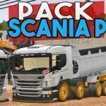 PACK DE SKINS SCANIA P VARIAS CORES