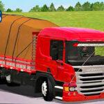 Skins Scania P310 Vermelha Qualificada