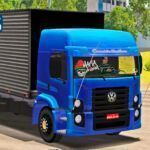 Skins VW Constellation Bau no Truck Azul 'QUALIFICADO'