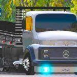 Skins Mercedes 1313 Truck Com Carroceria Preta