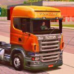 Skins Scania R TOPLINE LARANJA 'QUALIFICADA'