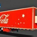 Skins Reboque Bau Frigorifico Coca-Cola Especial de Natal