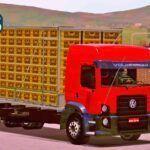 Skin VW BOB Truck Com Carga de Frango