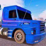 Skins Scania 113 Azul Com Faixas Clássica