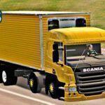 Skins Scania PZINHA No bau Amarela